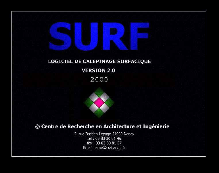 Surf : un logiciel de calepinage